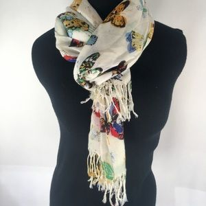 Old Navy Butterfly Pint Scarf